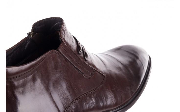 Półbuty john doubare ygfr-z102-310-1 brown, brązowe, skóra naturalna - bayla exclusive - trendy - mężczyzna 6