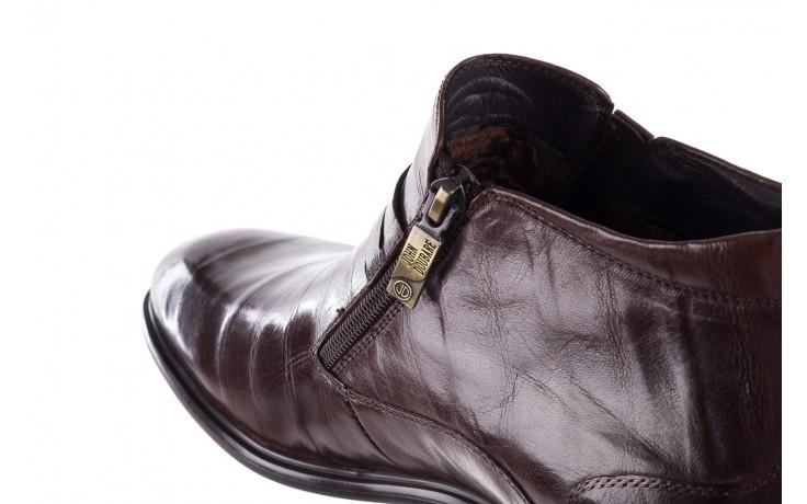 Półbuty john doubare ygfr-z102-310-1 brown, brązowe, skóra naturalna - sale - buty męskie - mężczyzna 7