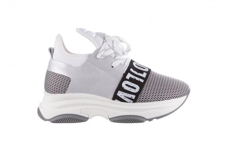 Sneakersy bayla-155 385-2800 popielate, materiał - bayla - nasze marki