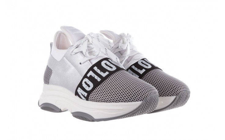 Sneakersy bayla-155 385-2800 popielate, materiał - bayla - nasze marki 1