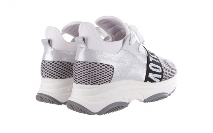 Sneakersy bayla-155 385-2800 popielate, materiał - bayla - nasze marki 3