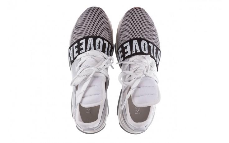 Sneakersy bayla-155 385-2800 popielate, materiał - bayla - nasze marki 4