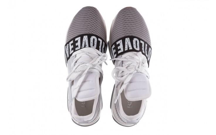 Bayla-155 385-2800 popielate sneakersy 19 - sneakersy - buty damskie - kobieta 4