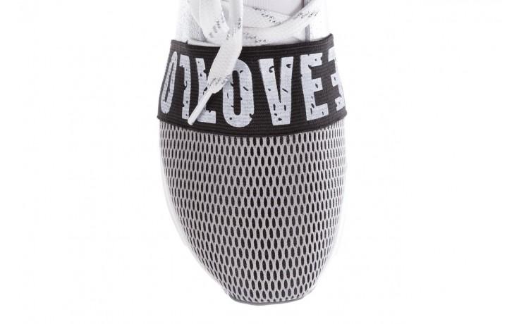 Sneakersy bayla-155 385-2800 popielate, materiał - bayla - nasze marki 6