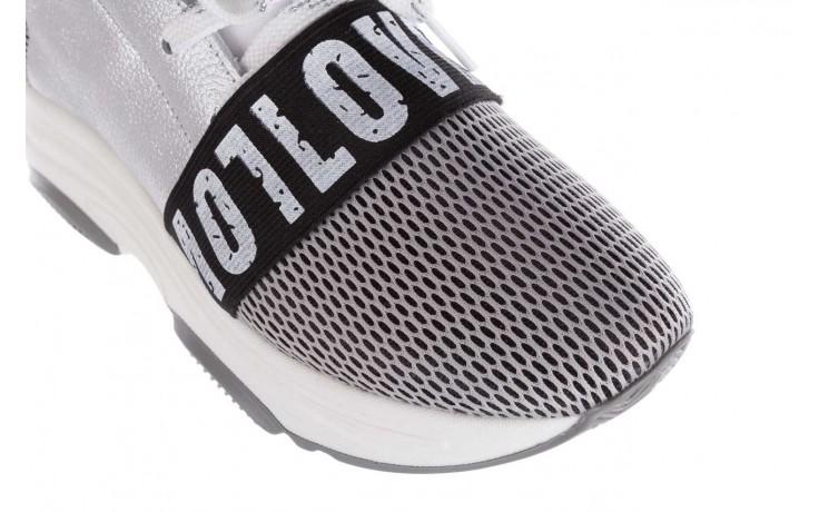 Sneakersy bayla-155 385-2800 popielate, materiał - bayla - nasze marki 7