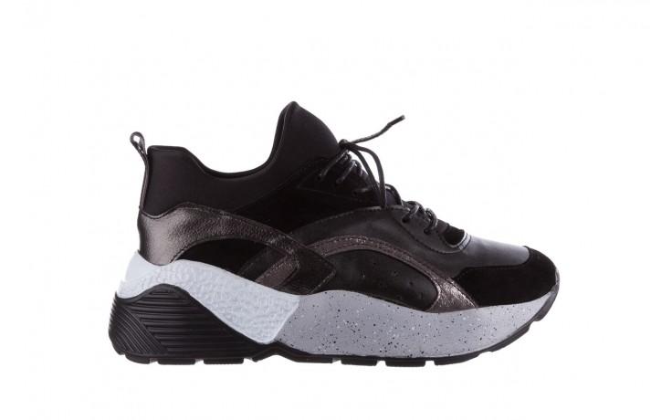 Sneakersy bayla-155 385-2758 czarne, skóra ekologiczna - bayla - nasze marki