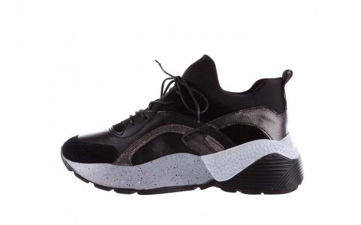 Sneakersy bayla-155 385-2758 czarne, skóra ekologiczna - bayla - nasze marki 2