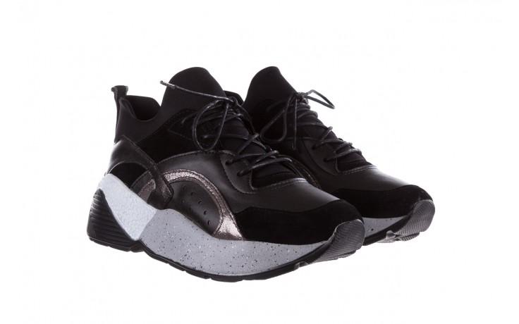Sneakersy bayla-155 385-2758 czarne, skóra ekologiczna - bayla - nasze marki 1