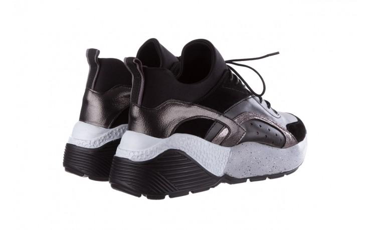 Sneakersy bayla-155 385-2758 czarne, skóra ekologiczna - bayla - nasze marki 3