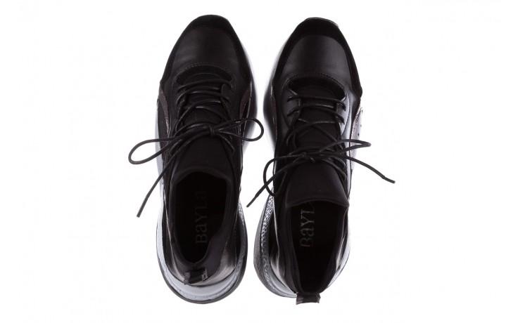 Sneakersy bayla-155 385-2758 czarne, skóra ekologiczna - bayla - nasze marki 4