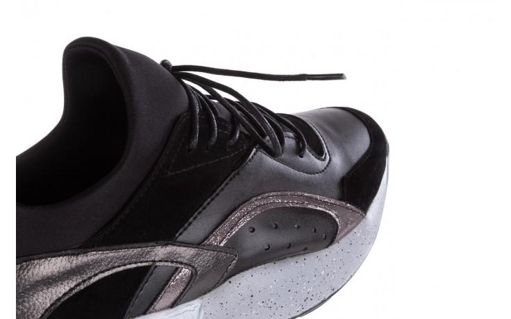 Sneakersy bayla-155 385-2758 czarne, skóra ekologiczna - bayla - nasze marki 5