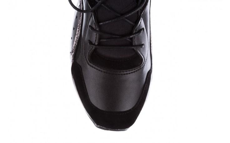 Sneakersy bayla-155 385-2758 czarne, skóra ekologiczna - bayla - nasze marki 7
