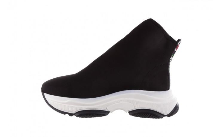Sneakersy bayla-155 001-002 czarne sneakersy 19, czarny, materiał - sneakersy - buty damskie - kobieta 2
