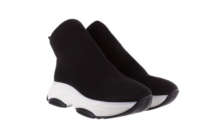 Sneakersy bayla-155 001-002 czarne sneakersy 19, czarny, materiał - sneakersy - buty damskie - kobieta 1