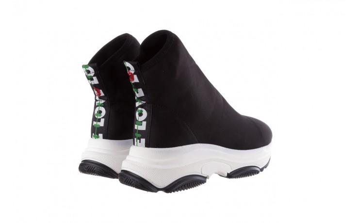 Sneakersy bayla-155 001-002 czarne, materiał - bayla - nasze marki 3