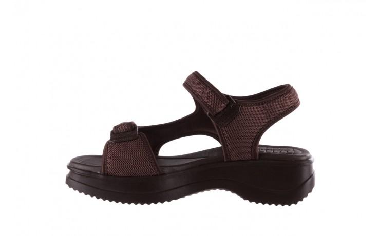 Sandały azaleia 320 323 brown 19, brąz, materiał 2