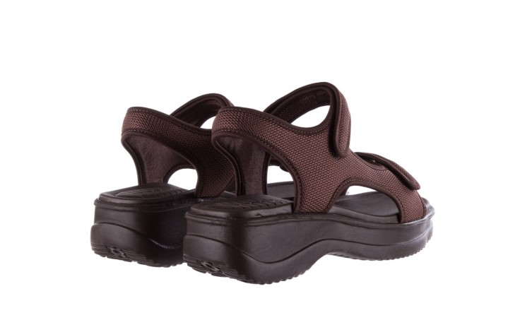 Sandały azaleia 320 323 brown 19, brąz, materiał 3