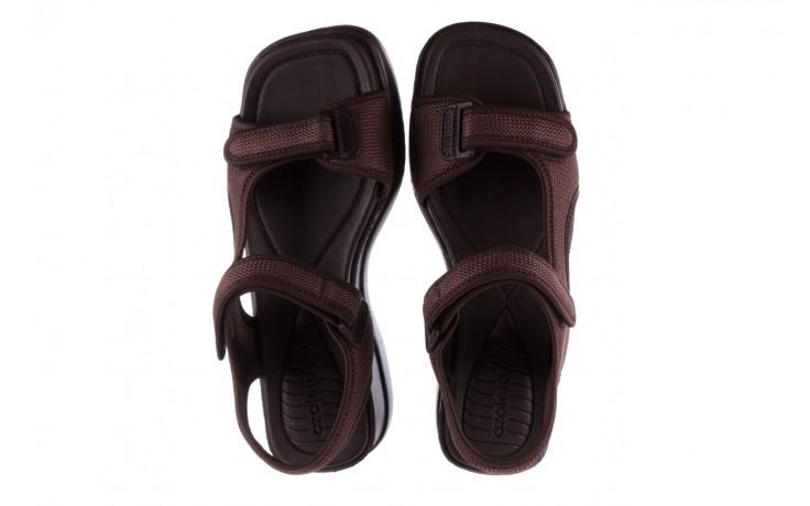 Sandały azaleia 320 323 brown 19, brąz, materiał 4