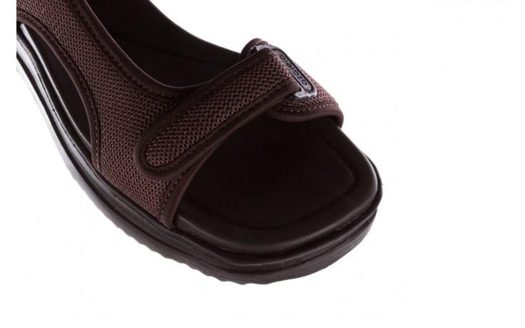 Sandały azaleia 320 323 brown 19, brąz, materiał 5
