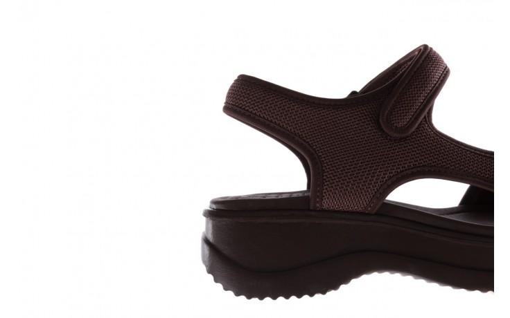 Sandały azaleia 320 323 brown 19, brąz, materiał 6