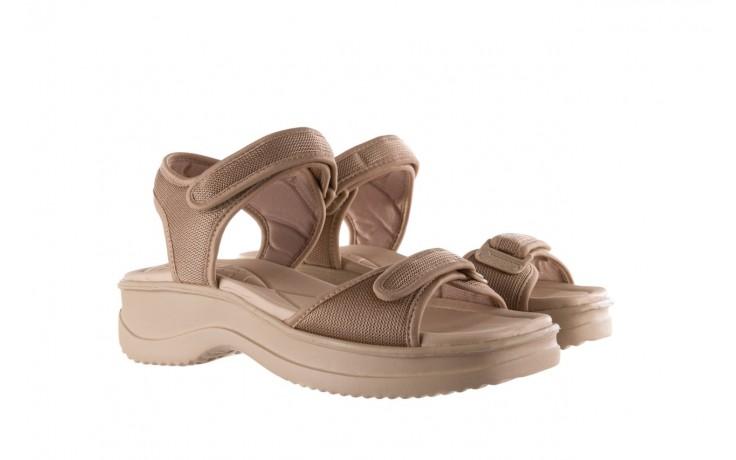 Sandały azaleia 320 321 beige 19, beż, materiał - azaleia - nasze marki 1
