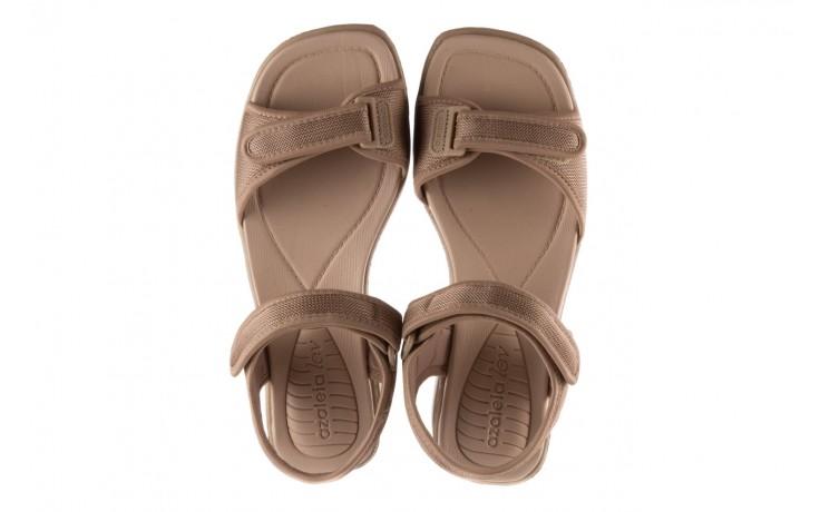 Sandały azaleia 320 321 beige 19, beż, materiał - azaleia - nasze marki 4