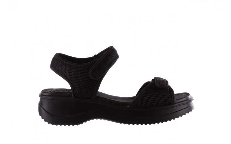 Sandały azaleia 320 321 black 19, czarny, materiał - azaleia - nasze marki