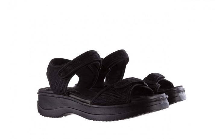 Sandały azaleia 320 321 black 19, czarny, materiał - azaleia - nasze marki 1