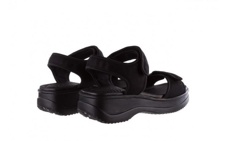 Sandały azaleia 320 321 black 19, czarny, materiał - azaleia - nasze marki 3