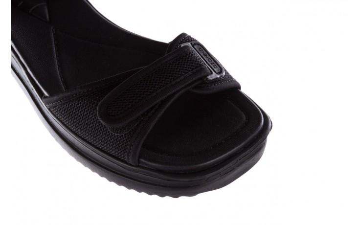 Sandały azaleia 320 321 black 19, czarny, materiał - azaleia - nasze marki 5
