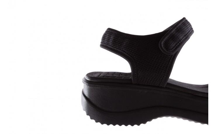 Sandały azaleia 320 321 black 19, czarny, materiał - azaleia - nasze marki 6