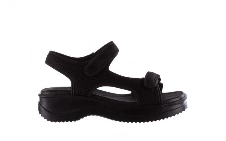 Sandały azaleia 320 323 black black 20, czarny, materiał - sale