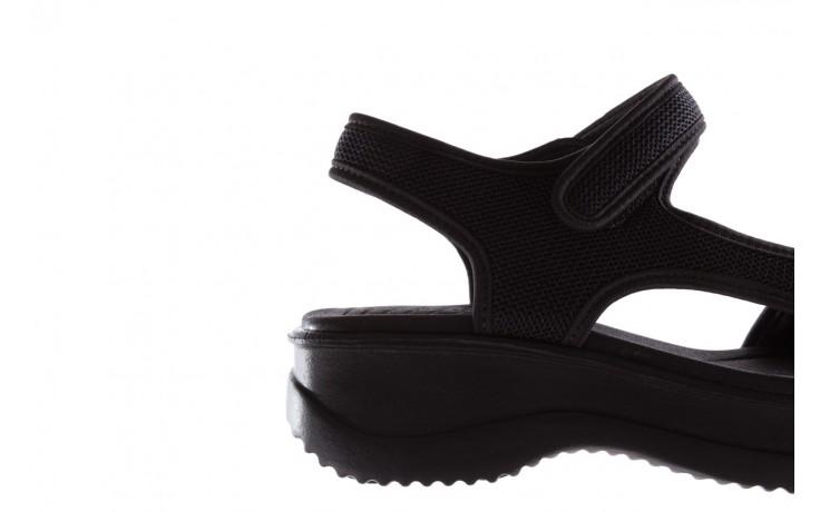 Sandały azaleia 320 323 black 19, czarny,  materiał - azaleia - nasze marki 6