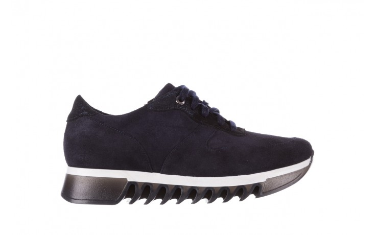 Sneakersy bayla-185 185 106 granat, skóra naturalna  - sneakersy - buty damskie - kobieta