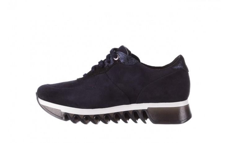 Sneakersy bayla-185 185 106 granat, skóra naturalna  - bayla - nasze marki 2
