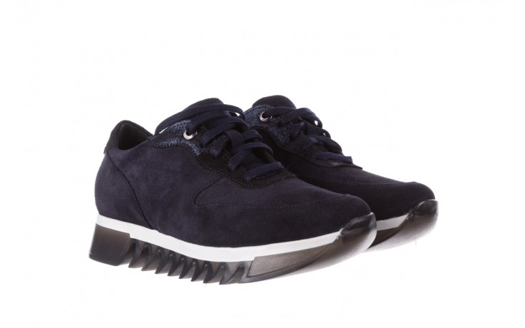 Sneakersy bayla-185 185 106 granat, skóra naturalna  - sneakersy - buty damskie - kobieta 1