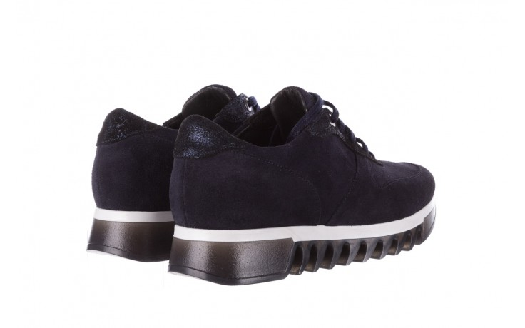 Sneakersy bayla-185 185 106 granat, skóra naturalna  - sneakersy - buty damskie - kobieta 3