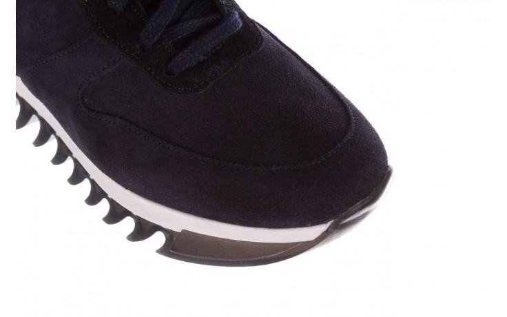 Sneakersy bayla-185 185 106 granat, skóra naturalna  - sneakersy - buty damskie - kobieta 5