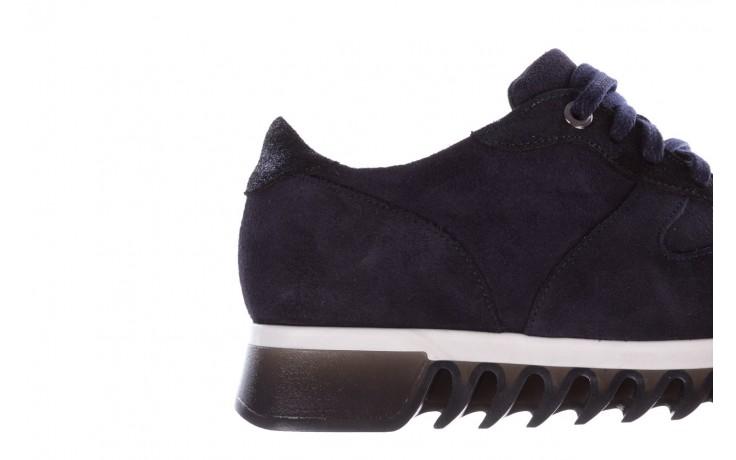 Sneakersy bayla-185 185 106 granat, skóra naturalna  - sneakersy - buty damskie - kobieta 6