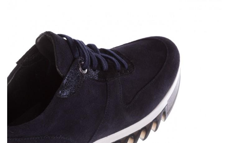 Sneakersy bayla-185 185 106 granat, skóra naturalna  - sneakersy - buty damskie - kobieta 7