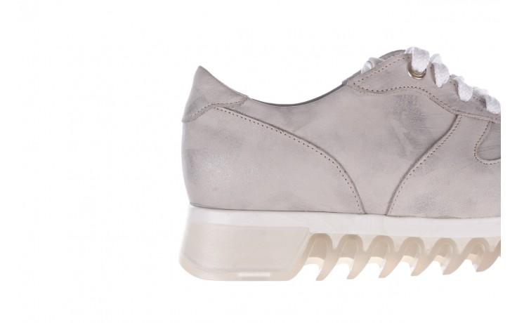 Sneakersy bayla-185 185 105 srebrny, skóra naturalna  - bayla - nasze marki 6