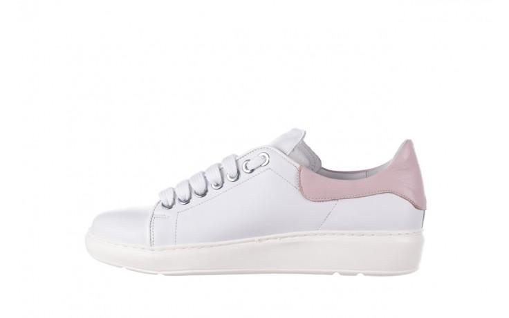 Trampki bayla-185 185 101 biały, skóra naturalna  - niskie - trampki - buty damskie - kobieta 2