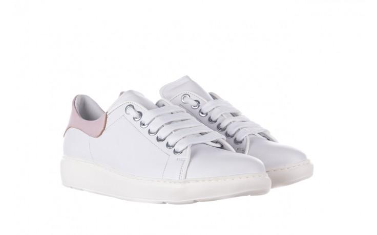 Trampki bayla-185 185 101 biały, skóra naturalna  - niskie - trampki - buty damskie - kobieta 1