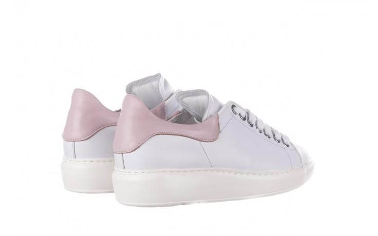 Trampki bayla-185 185 101 biały, skóra naturalna  - niskie - trampki - buty damskie - kobieta 3