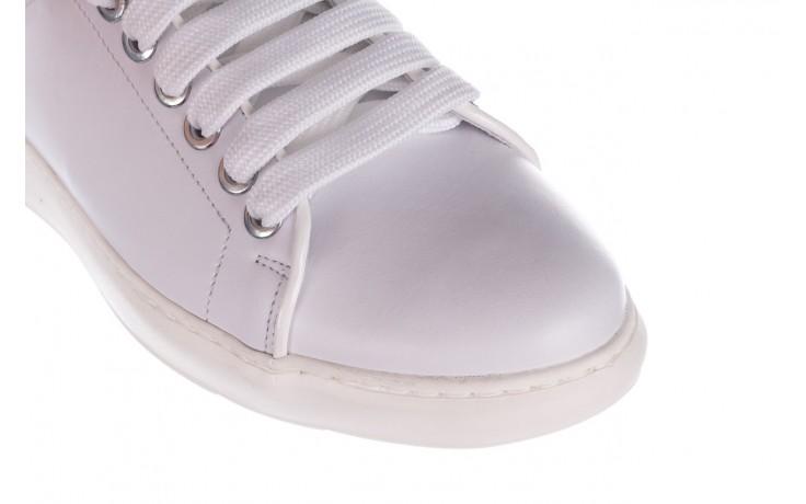 Trampki bayla-185 185 101 biały, skóra naturalna  - niskie - trampki - buty damskie - kobieta 5
