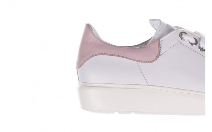 Trampki bayla-185 185 101 biały, skóra naturalna  - niskie - trampki - buty damskie - kobieta 6