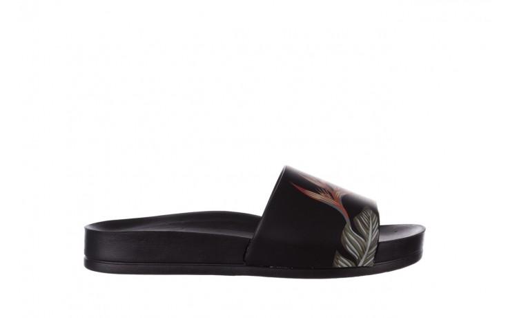 Klapki azaleia 290 196 black-orange, czarny, guma - azaleia - nasze marki