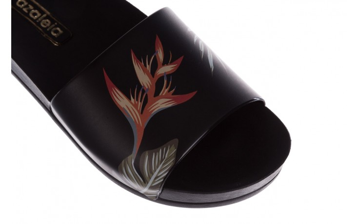 Klapki azaleia 290 196 black-orange, czarny, guma - azaleia - nasze marki 5