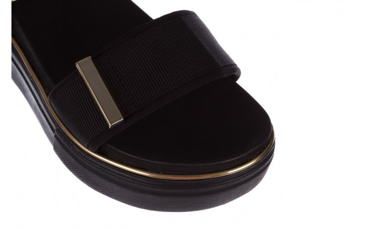 Sandały azaleia 400 290 napa snow black-black, czarny, skóra ekologiczna/ materiał  - na platformie - sandały - buty damskie - kobieta 5