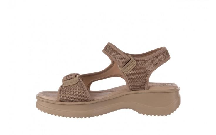 Sandały azaleia 320 323 beige sand 20, beż, materiał - sandały - buty damskie - kobieta 2